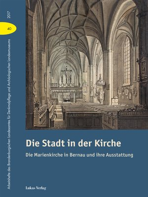 cover image of Die Stadt in der Kirche