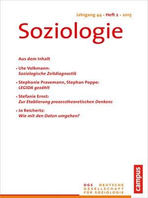 cover image of Soziologie 2.2015