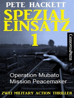 cover image of Spezialeinsatz Nr. 1--Zwei Military Action Thriller