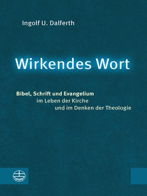 cover image of Wirkendes Wort