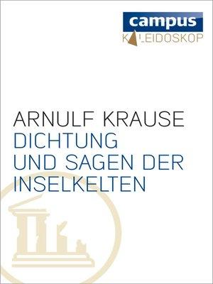 cover image of Dichtung und Sagen der Inselkelten