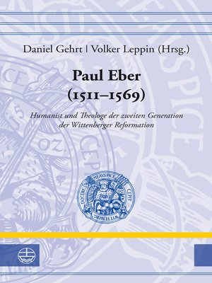 cover image of Paul Eber (1511–1569)