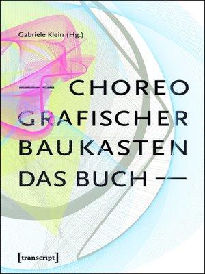 cover image of Choreografischer Baukasten. Das Buch