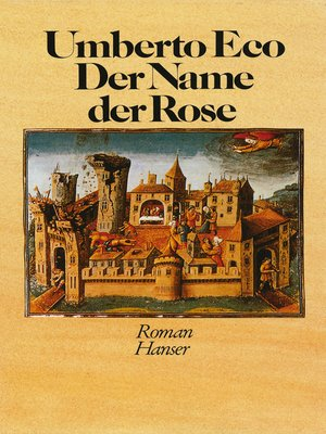 cover image of Der Name der Rose
