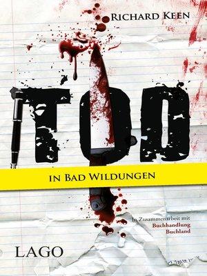 cover image of Tod in Bad Wildungen