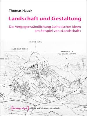 cover image of Landschaft und Gestaltung