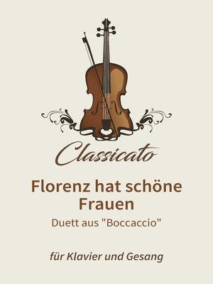 cover image of Florenz hat schöne Frauen