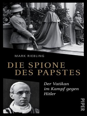 cover image of Die Spione des Papstes