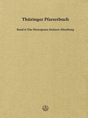 cover image of Thüringer Pfarrerbuch