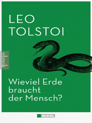 cover image of Wieviel Erde braucht der Mensch?