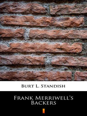 cover image of Frank Merriwell's Backers
