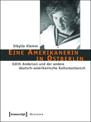 cover image of Eine Amerikanerin in Ostberlin