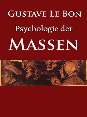 cover image of Psychologie der Massen