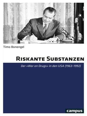 cover image of Riskante Substanzen