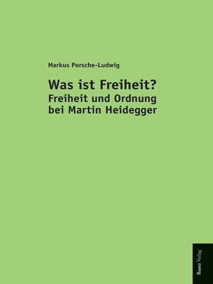 cover image of Was ist Freiheit?