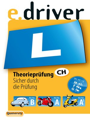 cover image of e.driver Theorieprüfung