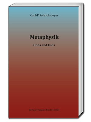 cover image of Metaphysik