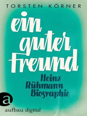 cover image of Ein guter Freund
