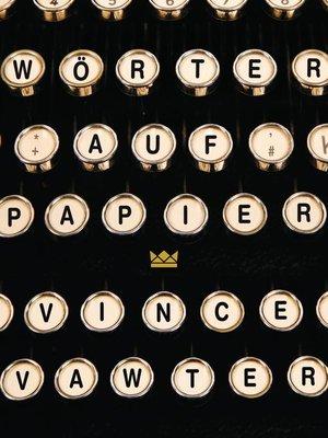 cover image of Wörter auf Papier