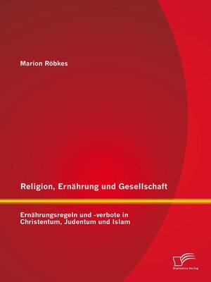 cover image of Religion, Ernährung und Gesellschaft
