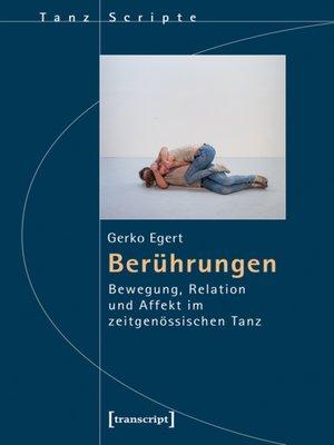 cover image of Berührungen