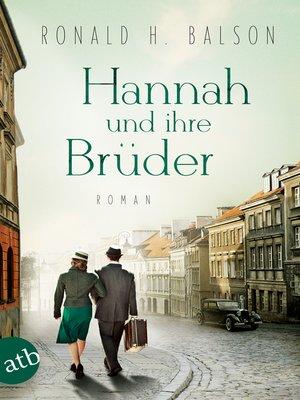 cover image of Hannah und ihre Brüder