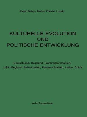 cover image of KULTURELLE EVOLUTION UND POLITISCHE ENTWICKLUNG