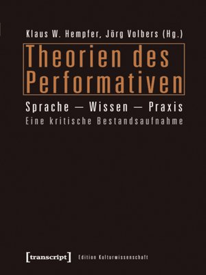 cover image of Theorien des Performativen