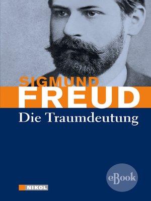 cover image of Die Traumdeutung
