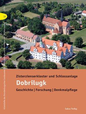 cover image of Zisterzienserkloster und Schlossanlage Dobrilugk