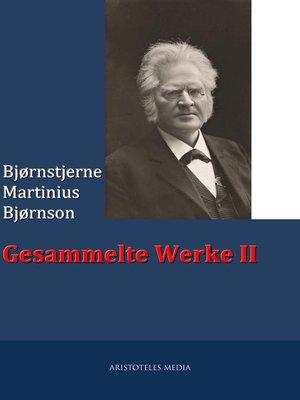 cover image of Gesammelte Werke II