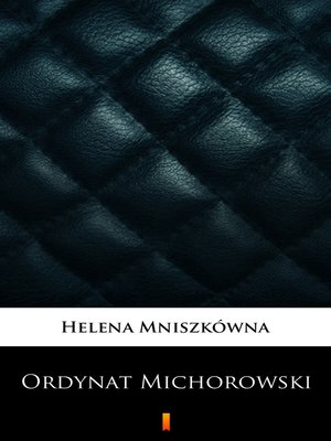 cover image of Ordynat Michorowski