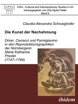cover image of Die Kunst der Nachahmung