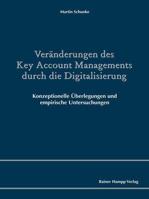 cover image of Veränderungen des Key Account Managements durch die Digitalisierung