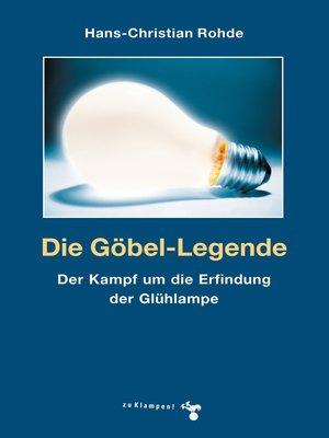 cover image of Die Göbel-Legende