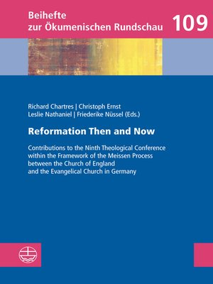 cover image of Reformation Then and Now