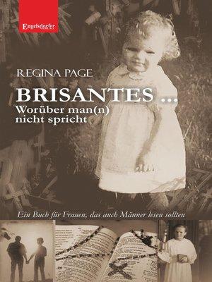 cover image of BRISANTES ... Worüber man(n) nicht spricht