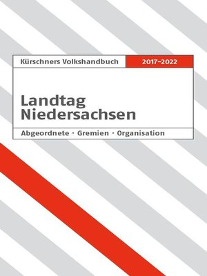 cover image of Kürschners Volkshandbuch Niedersächsischer Landtag