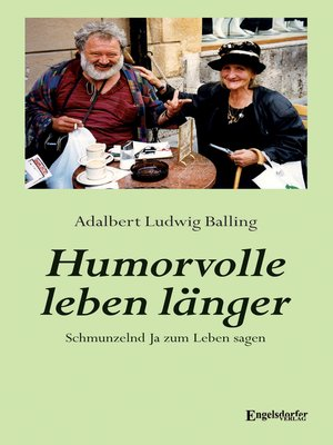 cover image of Humorvolle leben länger
