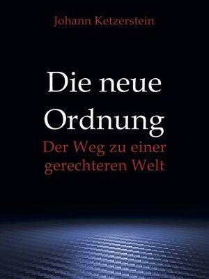 cover image of Die neue Ordnung