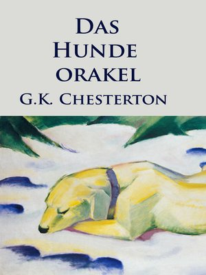 cover image of Das Hundeorakel