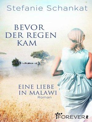 cover image of Bevor der Regen kam
