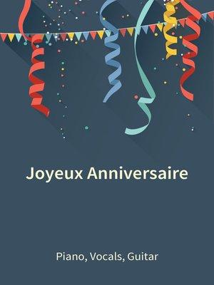 cover image of Joyeux Anniversaire
