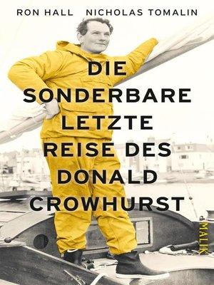 cover image of Die sonderbare letzte Reise des Donald Crowhurst