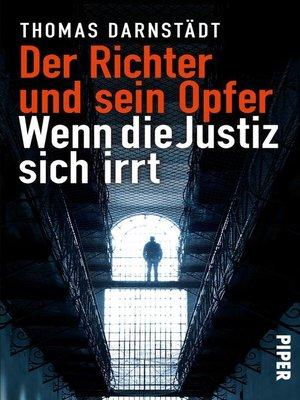 cover image of Der Richter und sein Opfer