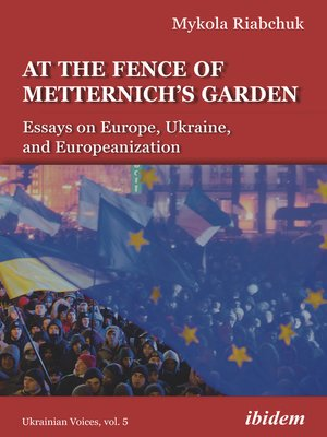 cover image of At the Fence of Metternich's Garden