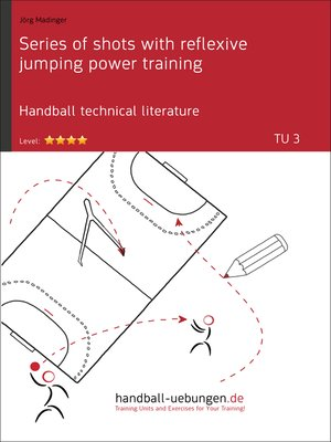 cover image of Series of shots with reflexive jumping power training (TU 3)