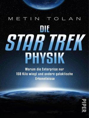 cover image of Die STAR TREK Physik