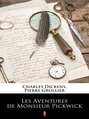 cover image of Les Aventures de Monsieur Pickwick