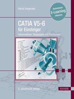 cover image of CATIA V5-6 für Einsteiger